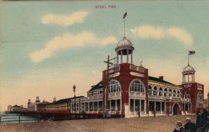 ATLANTIC CITY, New Jersey, PU-1909; Steel Pier