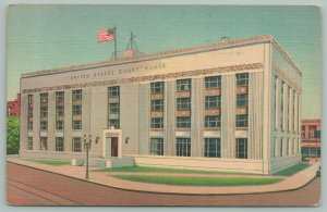 El Paso Texas~United States Post Office~Completed in 1936~Postcard