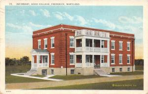 C69/ Frederick Maryland Md Postcard c1930s Infirmary Hood College Biefeld Marken