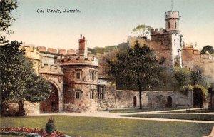 The Castle Lincoln United Kingdom, Great Britain, England Unused