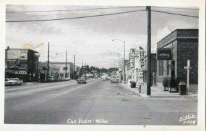 RP: CLE ELUM , Washington , 1940s , Street ; ELLIS 7008