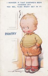 AS: D. Tempest #242; Child at Pantry, 1910-20s