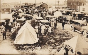 RP: Tourist Camp [Tents] , SWIFT CURRENT , Saskatchewan , Canada , PU-1930