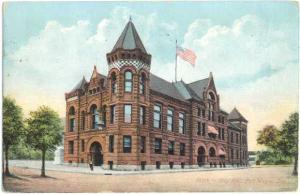 D/B City Hall Fort Wayne Indiana IN 1907