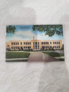 Antique/Vintage Postcard, Canfield High School, Canfield, Ohio