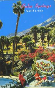 Palm Springs CA The Tennis Club Calif c1983 Vintage Postcard D18