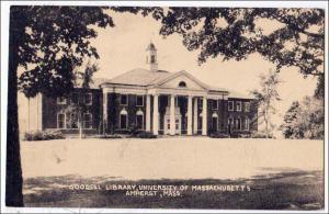 Goodell Library, U of Mass. Amherst Mass