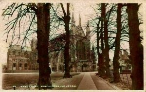 Winchester Cathedral West Front Postcard