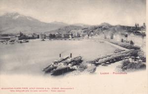 LUZERN, Switzerland , 1900-10s : Promenade