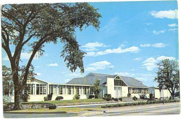Congregational Church, Barrington, Rhode Island, RI, chrome