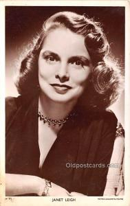 Janet Leigh Movie Star Actor Actress Film Star Postcard, Old Vintage Antique ...