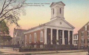 Virginia Fredricksburg Presbyterian Churcu And Chapel Albertype