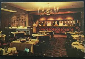 Postcard Unused Embers Restaurant @ Quality Court Motel Carlisle PA LB
