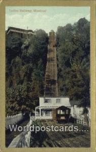 Montreal Canada, du Canada Incline Railway  Incline Railway