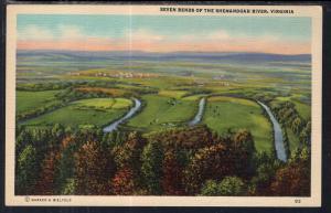 Seven Bends of the Shenadoah River,VA