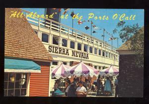 San Pedro, California/CA/Calif Postcard, Sierra Nevada At the Ports O'Call