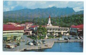 A Glimpse of Papeete, the Capital of Tahiti, Chrome