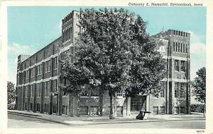 Company E. Memorial, Shenandoah, Iowa IA 1945