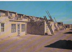 New Mexico Pueblo Of Acoma Street Scene