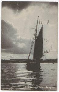 Greetings From Newport RI 1919
