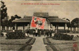 CPA AK INDOCHINA Env.de Saigon Le Tombeau de l'Eveque VIETNAM (956983)