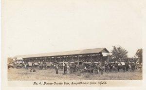 RP: PRINCETON , Illinois , 00-10s ; Bureau County Fair ; Amphitheatre from in...