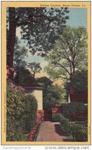 Kitchen Gardens Mount Vernon Virginia