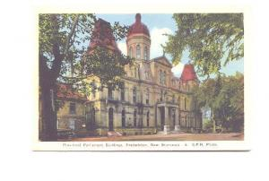 Provincial Buildings, Fredericton, New Brunswick, Used 1940