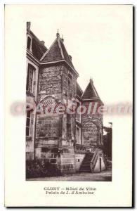 Postcard Old City Hall Cluny Palai J Amboise