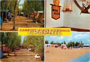 Postcard Modern Cambrils (Tarragona) Camping Playa Espana the Ardica