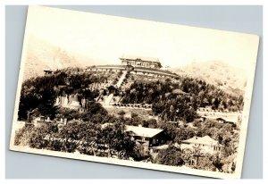 Vintage 1920's RPPC Postcard Bernheimer Home Hollywood California Japanese Theme