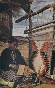 Navajo Weaver, ARIZONA, 1950-60s