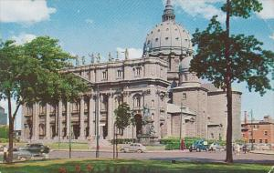 Canada Quebec Montreal Saint James Cathedral 1957