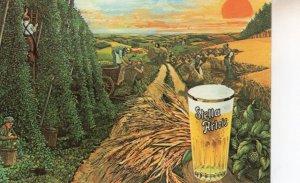 Stella Artois 1970s Advertising French Farm Farming Advert Postcard