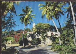 Sugar Mill St Thomas US Virgin Islands Postcard BIN