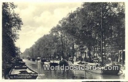 Prinsengracht Amsterdam Netherlands Unused