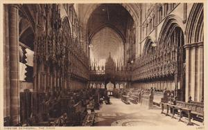 England Chester The Choir Chester Cathedral