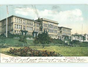 Pre-1907 NORMAL SCHOOL Providence Rhode Island RI n6205