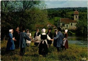 CPM Folklore Franc-Comtois Branle-Rond FOLKLORE (753969)
