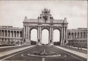 Belgium, Brussels, Bruxelles, Jubilee Memorial, unused real photo Postcard
