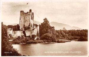 Ireland Killarney, Ross Castle from Lake 1935