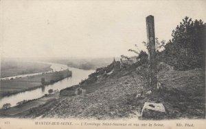 MANTES-SUR-SEINE , France, 00-10s; L'Ermitage Saint-Sauver et vue sur la Seine