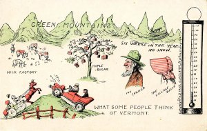 VT - What Some People Think of Vermont © 1908, C.H.Clark, St Johnsbury)
