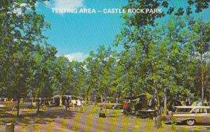 Illinois Castle Rock Park Camping Tenting Area