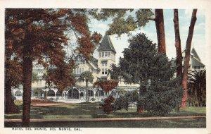Hotel Del Monte, Del Monte, California, Early Postcard, Unused
