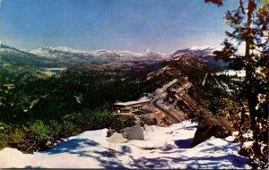 California Highway 40 Near Emigrant Pass