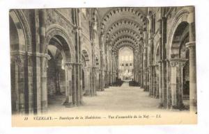 Vézelay , France , 00-10s ; Basilique de la Madeleine - Vue d'ensemble de la...