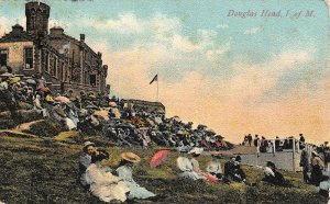 Isle of Man Douglas head Promenade Postcard