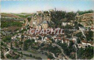 Postcard Modern Rocamadour General view