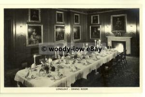 tp8111 - Wiltshire - The Longleat Dining Room in all its Glory  - Postcard